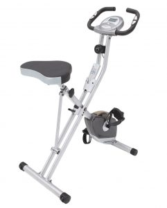 Exerpeutic Folding Upright Magnetic Bike