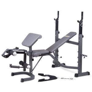 Body Champ Olympic Dark Gray/Black Weight Bench