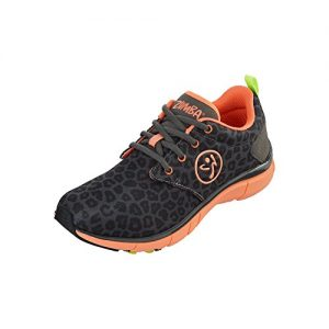 Zumba Women's Dance Shoe with Fly Print
